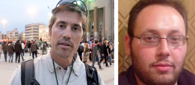 James Foley (g.) & Steven Sotfloff