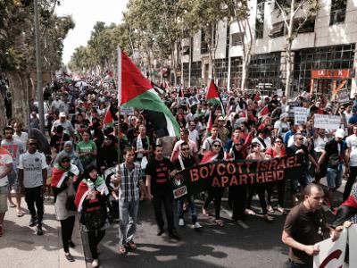 BDS 34 - Manifestation juillet 2014 à Montpellier